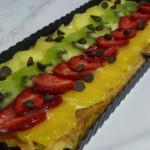 Banda de fruites i crema