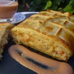 Pastis de peix amb pasta de full