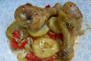 pollastre a la provençal